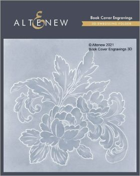 Book Cover Engravings Embossing Folder - Altenew