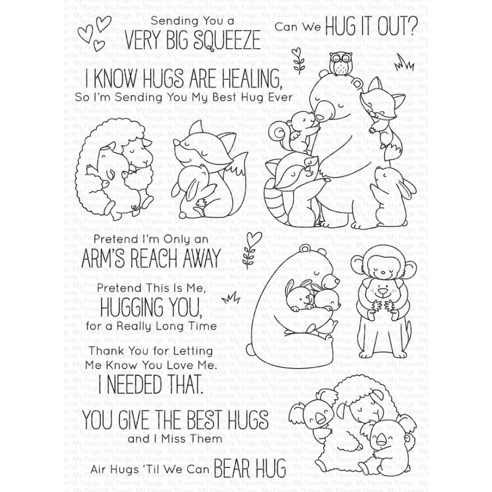***PRE-ORDER*** My Favorite Things - Hug it Out Clear Stamps