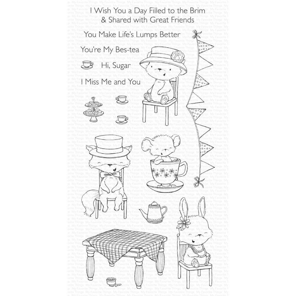 ***PRE-ORDER*** My Favorite Things - Fairy-Tale Friendship Clear Stamps