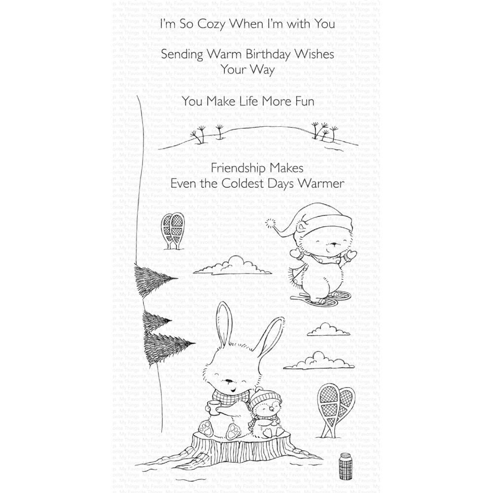 ***PRE-ORDER*** My Favorite Things - Frost-Loving Friends Clear Stamps