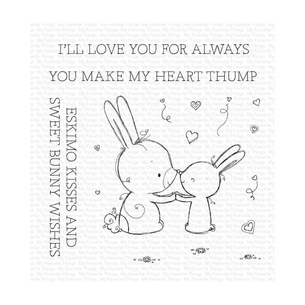 ***PRE-ORDER*** My Favorite Things - Bunny Wishes Clear Stamps