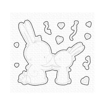 My Favorite Things - Bunny Wishes Die set