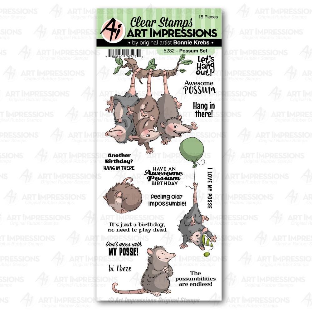***PRE-ORDER*** Art Impression - Possum Clear Stamps