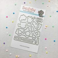 ****NEW**** Time For Tea - Car Critters die set