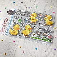 ****NEW**** Time For Tea - Lucky Ducks clear stamp set