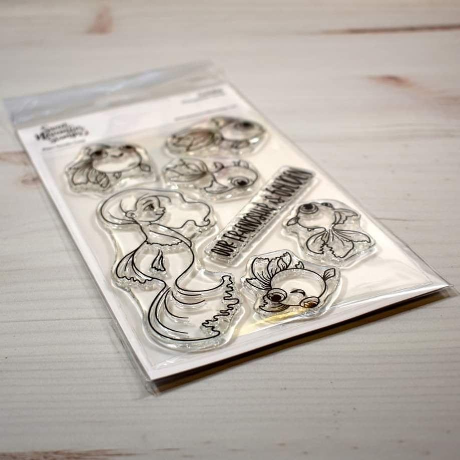 ****NEW****Sweet November - Goldie Clear stamp set