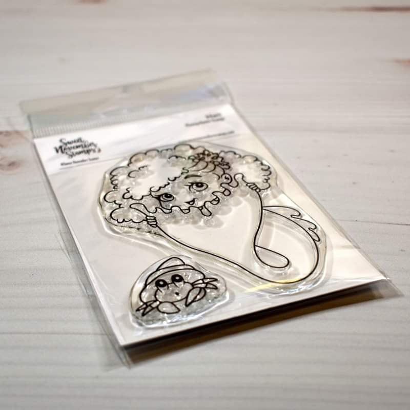 ****NEW****Sweet November - Hali Clear stamp set