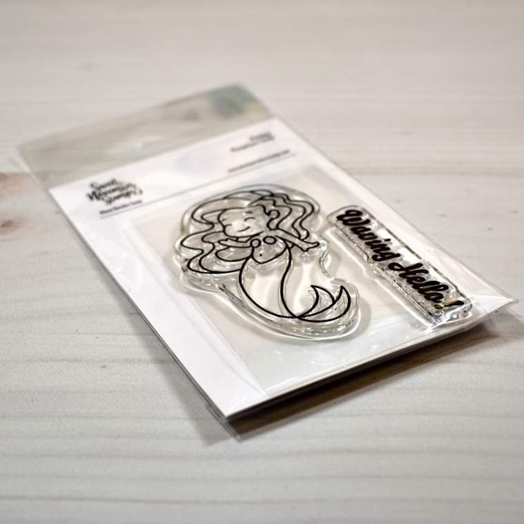 ****NEW****Sweet November - Finley Clear stamp set