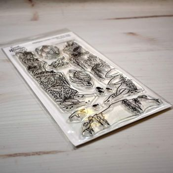 ****NEW****Sweet November - Horizon Lines - Under the sea Clear stamp set