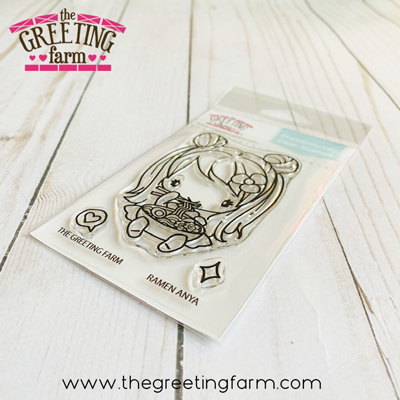 ***NEW*** Ramen Anya clear stamp set - The Greeting Farm