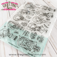 Miss Anya All Year Kit clear stamp set - The Greeting Farm