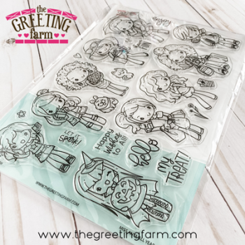 ***NEW*** Miss Anya All Year Kit clear stamp set - The Greeting Farm