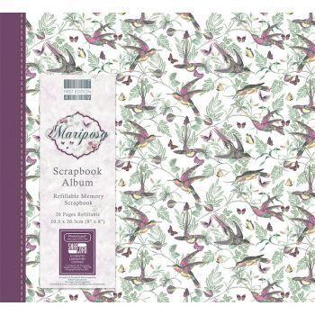 First Editions Mariposa 8x8 scrapbook Album