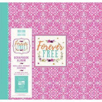 First Editions Forever Free Mandala 12x12 scrapbook Album