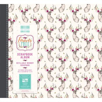 First Editions Forever Free 8x8 scrapbook Album