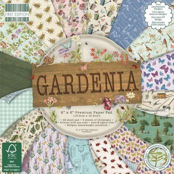 First Edition 6x6 FSC Paper Pad Gardenia