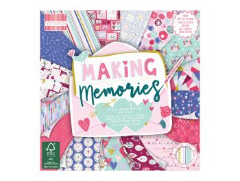 First Edition 6x6 FSC Paper Pad Making Memories