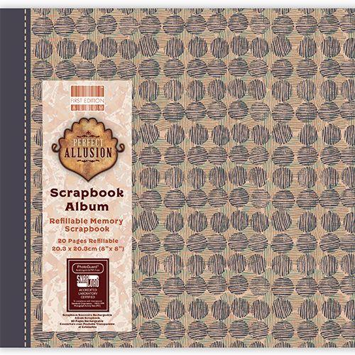 First Editions Perfect Allusion circles 8x8 scrapbook Album