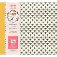 First Editions Wanderlust Bees 8x8 scrapbook Album