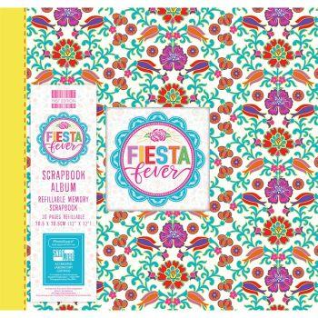 First Editions Fiesta Fever - Marigold 12x12 scrapbook Album