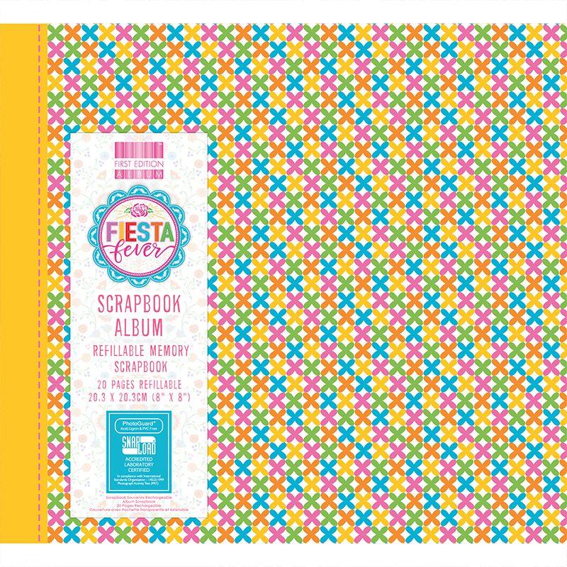 First Editions Fiesta Fever 8x8 scrapbook Album