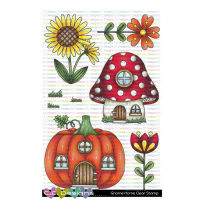 ***NEW*** C.C. Designs - Gnome Homes Clear Stamps