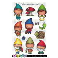 ***NEW*** C.C. Designs - Cutie Gnomie Clear Stamps
