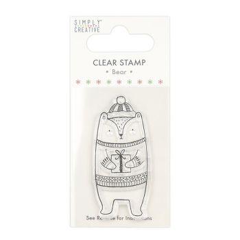 Simply creative - Bear stamp