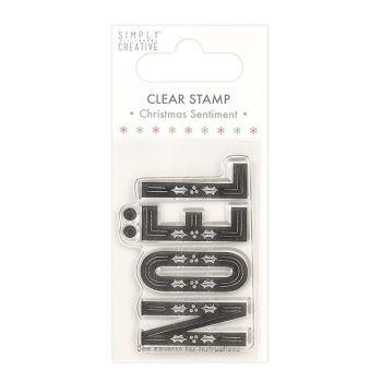 Simply creative - Noel stamp