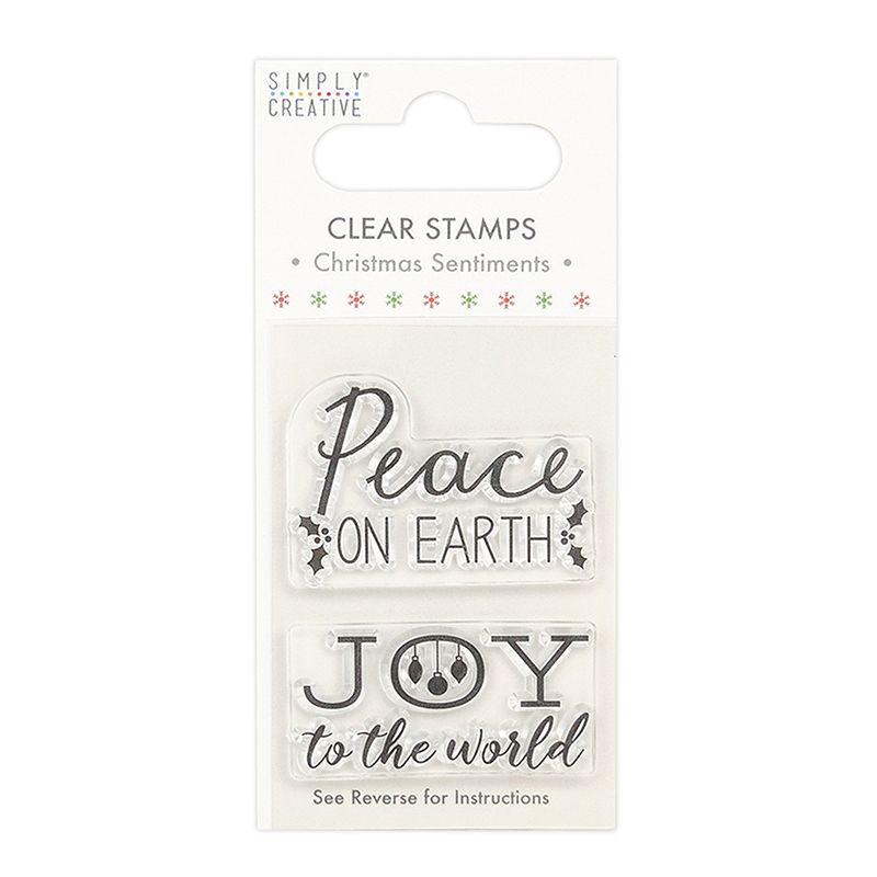 Simply creative - Peace stamp