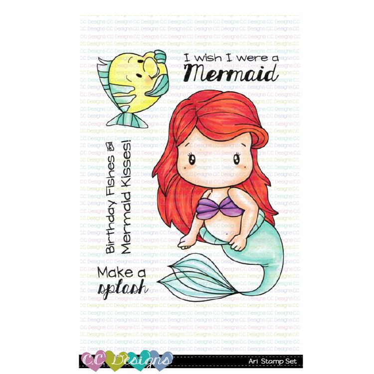 C.C. Designs - Ari clear stamp