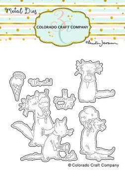 Colorado Craft Company ~ Anita Jeram ~ Ice Cream Day Dies