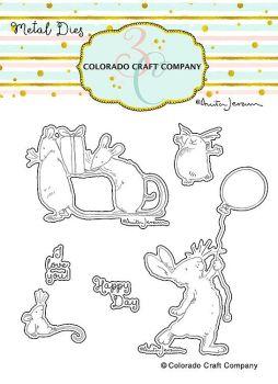 Colorado Craft Company ~ Anita Jeram ~ Birthday Wishing Dies