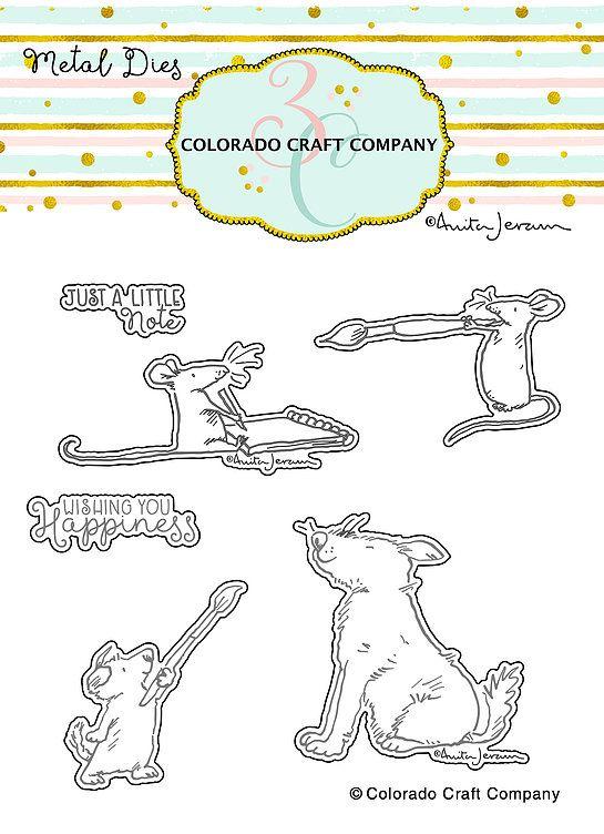 Colorado Craft Company ~ Anita Jeram ~ Wishing You Happiness Dies