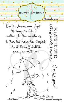 Colorado Craft Company ~ Anita Jeram ~ All Weather Friend clear stamp set