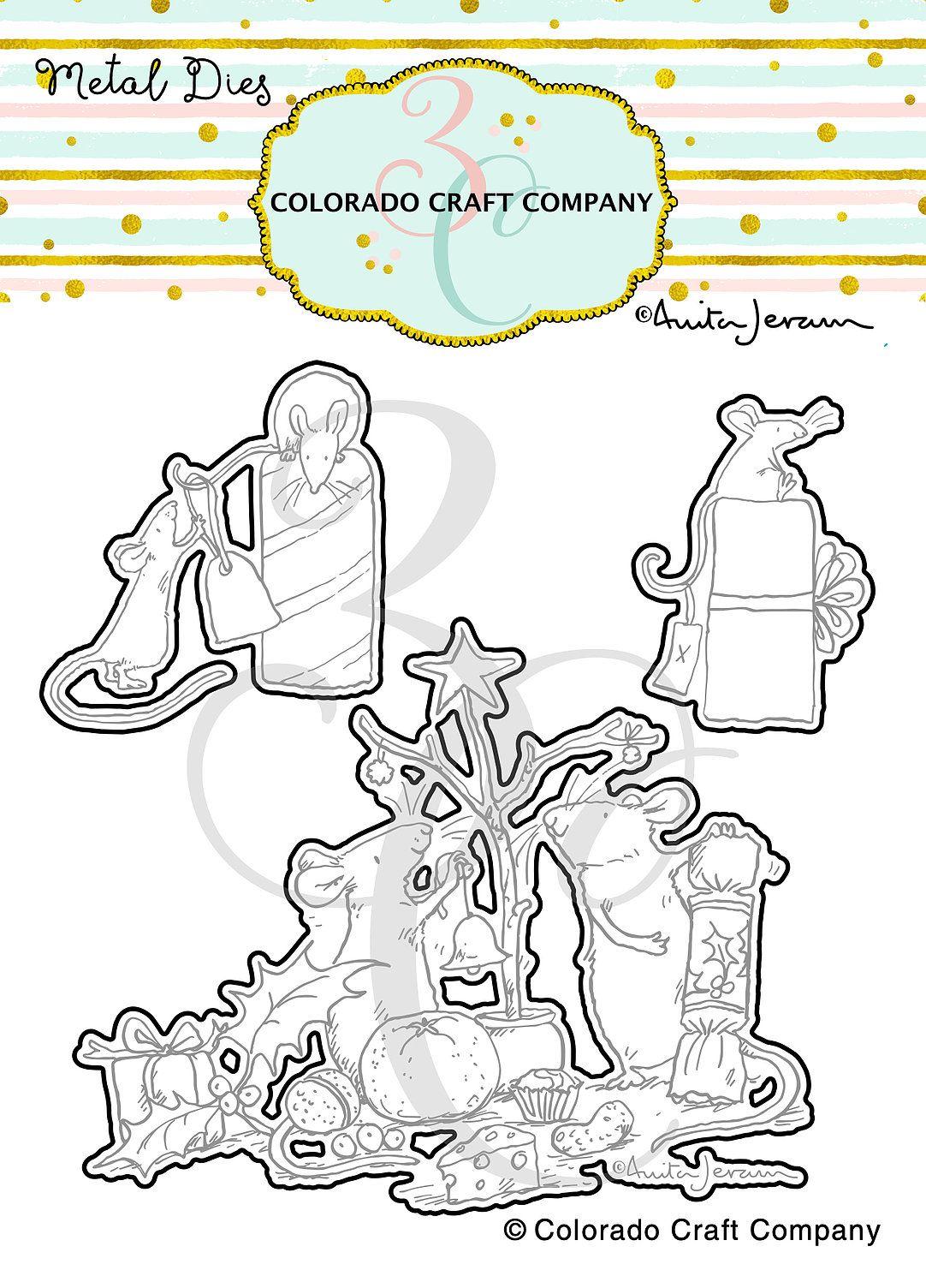 Colorado Craft Company ~ Anita Jeram ~ Wonderful Time Dies