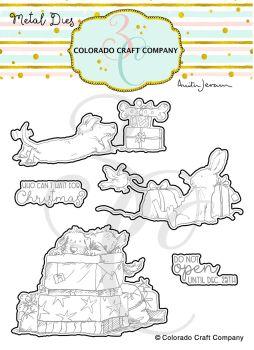 Colorado Craft Company ~ Anita Jeram ~ Christmas Presents Dies