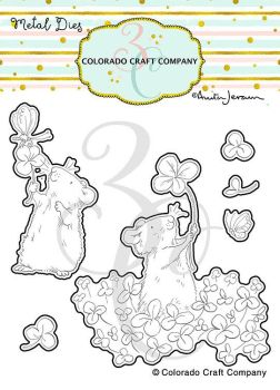 Colorado Craft Company ~ Anita Jeram ~ 4 Leaf Clover Dies