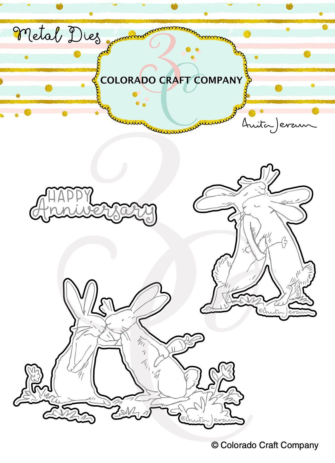 Colorado Craft Company ~ Anita Jeram ~ Lots Of Love Dies