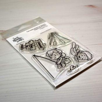 Sweet November - Fairwee Make a Splash Expansion Pack Clear stamp set