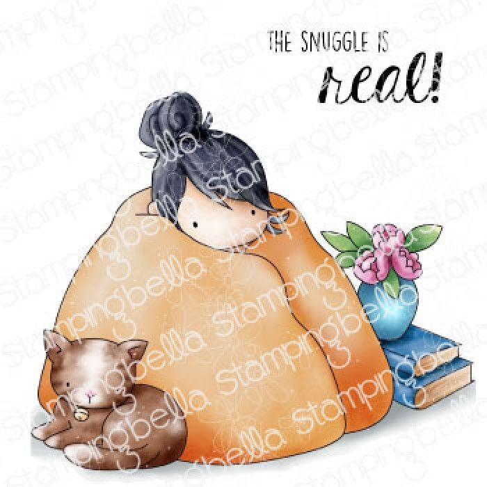 ****PRE-ORDER**** Stamping Bella - TINY TOWNIE LOVES TO SNUGGLE