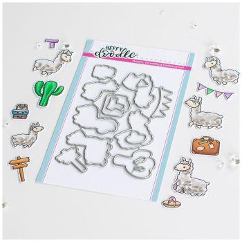 ***NEW*** Heffy Doodle - Llamazing Llamas Die set