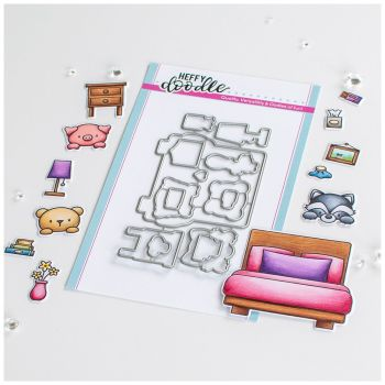 ***NEW*** Heffy Doodle - Bed Heads Die set
