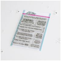 ***NEW*** Heffy Doodle - Get Well Greetings clear stamps