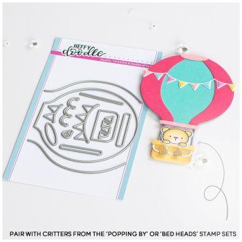 ***NEW*** Heffy Doodle - Hot Air Balloon Die set