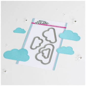 ***NEW*** Heffy Doodle - Big Stitched Clouds Die set