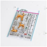 ***NEW*** Heffy Doodle - Deer To Me clear stamps