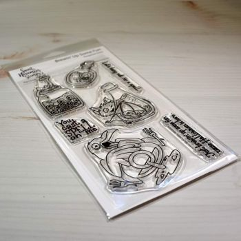 ****NEW**** Sweet November - Brewin Up Some Fun Clear stamp set