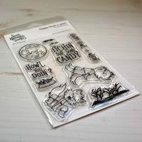 ****NEW**** Sweet November - Happy Howl-O-Ween Clear stamp set