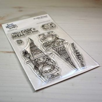 ****NEW****Sweet November - A Little Wicked Clear stamp set